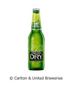 Carlton Dry Fusion Black カールトンドライ フュージョンライム