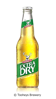 トゥーイーズエクストラドライ (Tooheys Extra Dry)