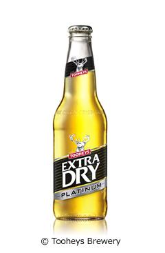 トゥーイーズエクストラドライプラチナム (Tooheys Extra Dry Platinum)